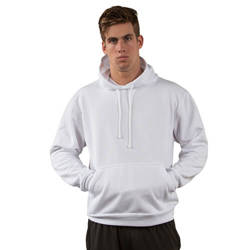 Sweat-shirt Vapor Capuche pour sublimation - blanc