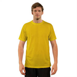 T-shirt Basic Manches Courtes pour sublimation - Yellow