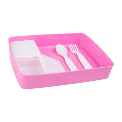 Bo te repas enfant pour sublimation rose rose bo tes - Boite repas enfant ...