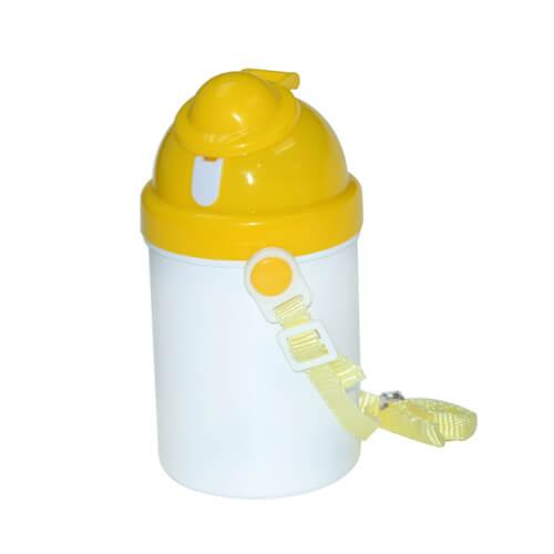 bouteille gourde pour enfant jaune sublimation transfert thermique janue thermos et bidons. Black Bedroom Furniture Sets. Home Design Ideas
