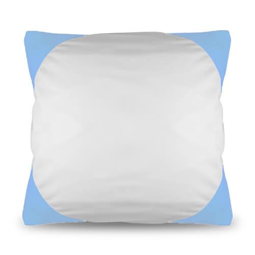 housse de coussin funky 40 x 40 cm bleu ciel sublimation transfert thermique bleu ciel. Black Bedroom Furniture Sets. Home Design Ideas