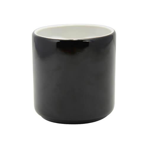 mug magique special pour amoureux avec anse coeur pour sublimation noir noir mugs. Black Bedroom Furniture Sets. Home Design Ideas