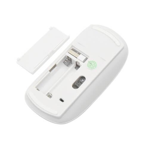 Souris d 39 ordinateur optique sans fil 3d blanc sublimation transfert thermique blanc - Decapeur thermique sans fil ...