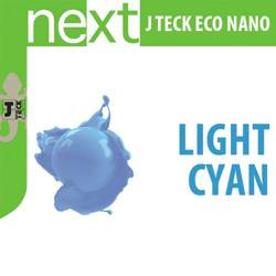 J-Teck J-Eco Nano LIGHT CYAN 1000 ml Sublimacja Temotransfer